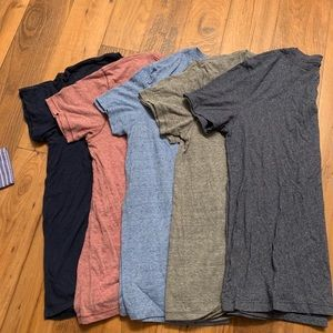 FIVE American eagle super soft brand shirts